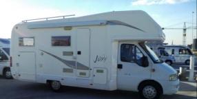 Camper: elnagh joxy 22 garage