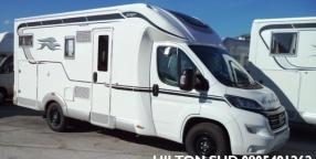 laika ecovip 390 con letto matrimoniale e gran garage