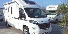 Camper: laika ecovip 390 con doppio letto matrimoniale e garage